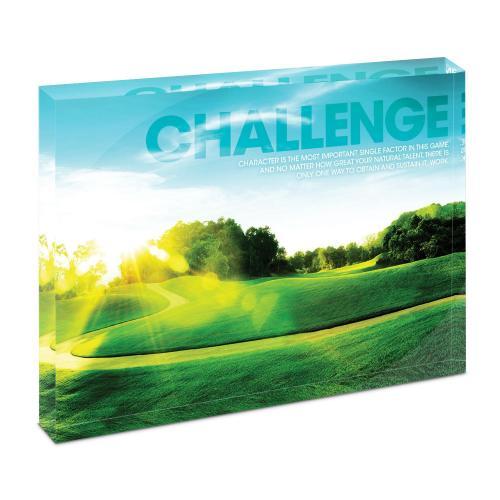 Challenge Golf Infinity Edge Acrylic Desktop