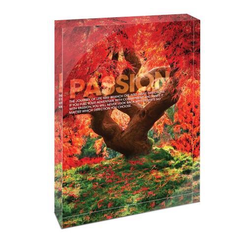 Passion Tree Infinity Edge Acrylic Desktop