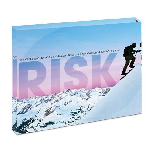 Risk Mountain Climber Infinity Edge Acrylic Desktop