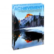 All Posters & Art - Achievement Mountain Infinity Edge Acrylic Desktop