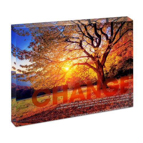 Change Tree Infinity Edge Acrylic Desktop