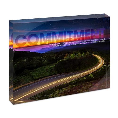 Commitment Highway Infinity Edge Acrylic Desktop