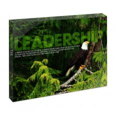 Leadership Eagle - Leadership Eagle Tree Infinity Edge Acrylic Desktop