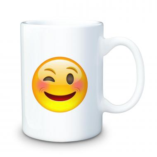 Winking 15oz Ceramic Mug