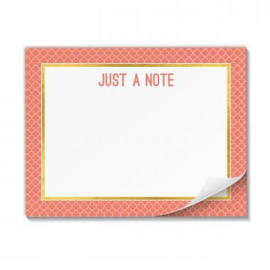 Just a Note: Productivity Pad Sticky Notes