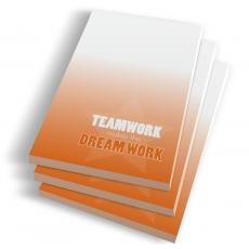 Desktop Motivation - Teamwork Dream Work Notepads