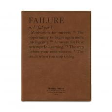 Padfolios - Failure Definition Personalize Leather Padfolio