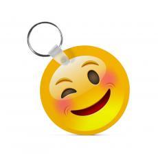 New Products - Winking Emoji Keychain
