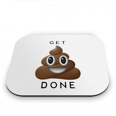 Get It Done Emoji Mouse Pad