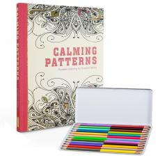 Desktop Motivation - Coloring Book & Colored Pencil Gift Set