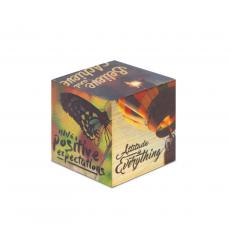 New Products - Attitude is Everything Motivational Wooden Building Block