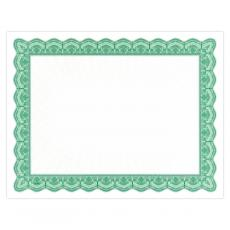 New Products - Green Bright Impressions Certificate Paper