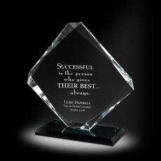 Glass Trophies - Stronghold Glass Award