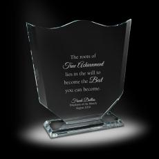 Glass Trophies - Insignia Glass Award