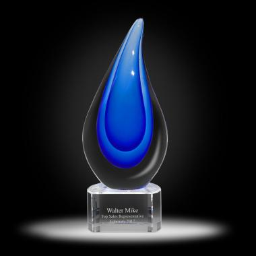 Delray Flame Glass Award