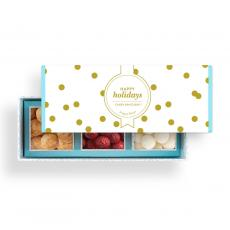 Holiday Themed Gifts - Happy Holidays Gourmet Candy Bento Box