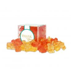 Candy & Food - Thank You Champagne Bears Candy Cube