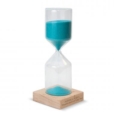 Blue Personalized Sand Timer