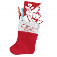 Holiday Themed Gifts - Appreciation Stuffed Stocking Gift Set