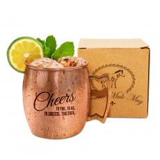 Steel Tumblers & Bottles - Cheers to Success Moscow Mule Mug