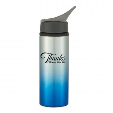 Thanks for All You Do 25oz More Ombre Sports Bottle