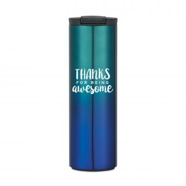 Thanks for Being Awesome 16oz Ombre Hot Tumbler