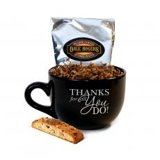 Executive Drinkware - BIG Thanks Cafe Mug Gift Set