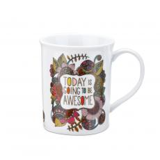 Ceramic Mugs - Enjoy Mug and Greeting Card