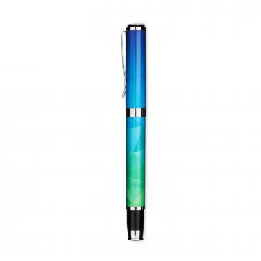 Blue Geometric Gift Pen