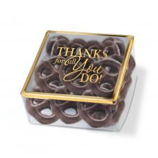 New Products - Golden Box Chocolate Pretzels