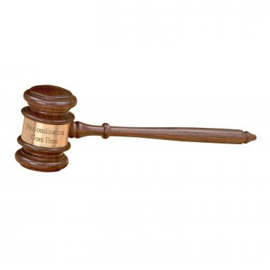 The Chief Personalized Gavel