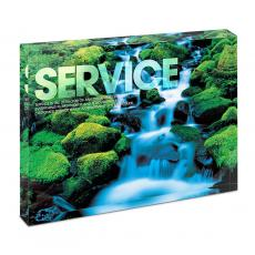 New Products - Service Waterfall Infinity Edge Acrylic Desktop