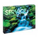 Service Waterfall Infinity Edge Acrylic Desktop