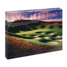 All Posters & Art - Excellence Golf Infinity Edge Acrylic Desktop