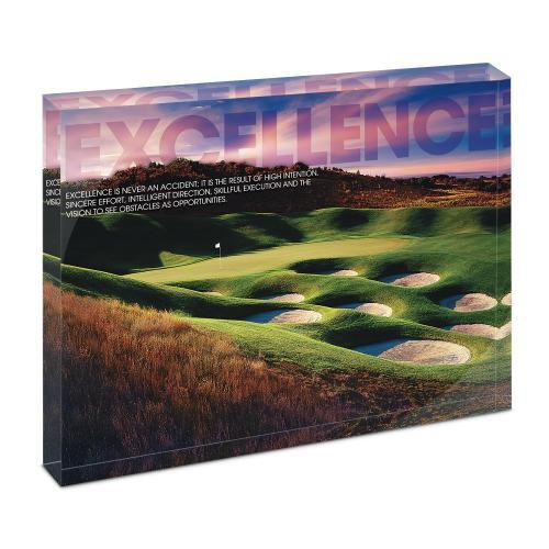 Excellence Golf Infinity Edge Acrylic Desktop