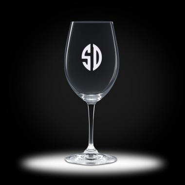 Custom Etched Red Wine Stemware
