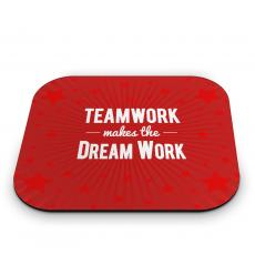 New Themes - Teamwork Dream Work Mouse Pad