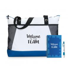 New Products - Welcome to the Team Motivational Tote Gift Set