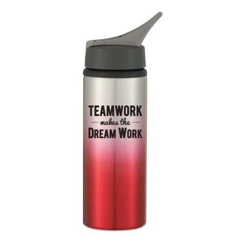 Teamwork Dream Work 25oz Ombre Sports Bottle