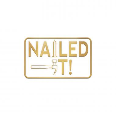 Nailed It Lapel Pin