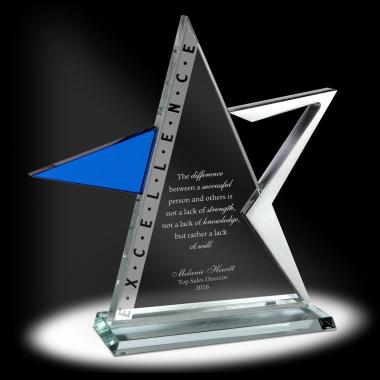 Excellence Star Glass Award