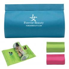 Travel / Toiletry Bags - Cylinder Vanity Bag