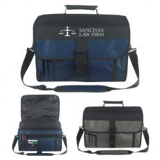 Messenger Bags - Expandable Deluxe Briefcase