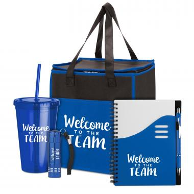 Welcome to the Team Motivational 5-Piece Gift Set