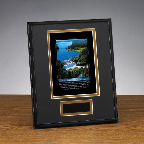 Essence of Change Framed Award