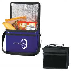 Coolers & Lunch Bags - Laminated Non-Woven Six Pack Kooler Bag