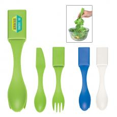 Portable Utensils - 4-In-1 Biggie Utensil Set