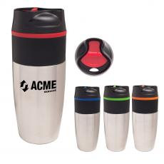 Stainless Steel - 16 Oz. Stainless Steel Metro Tumbler