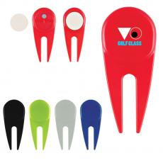 Sports & Outdoor - Divot Tool With Ball Marker