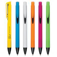 Plastic Ballpoint Pens - Shiny Barrel Pen